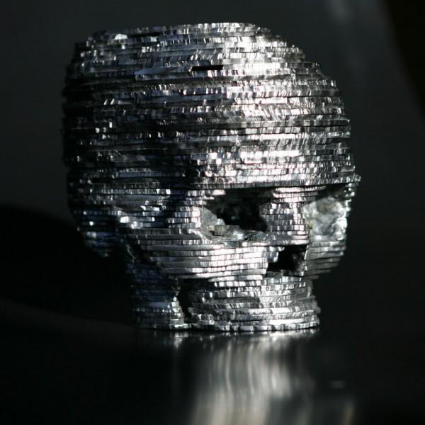Steel sculpture by Edward Sudentas