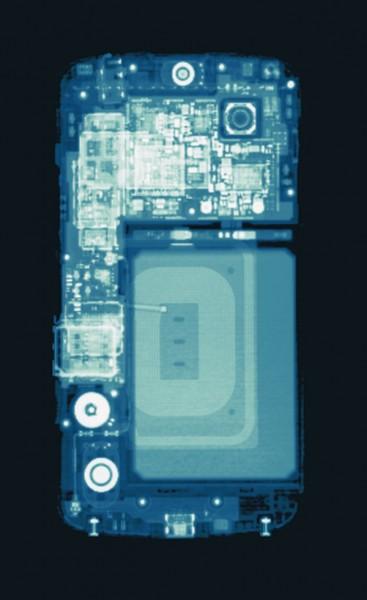 X-ray of Nexus 4