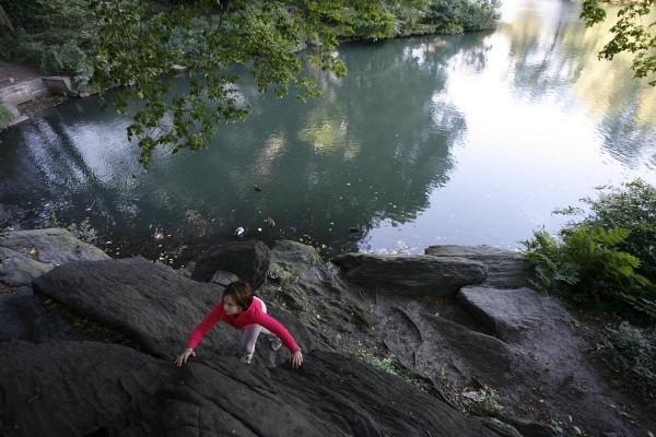 Around Central Park Pond