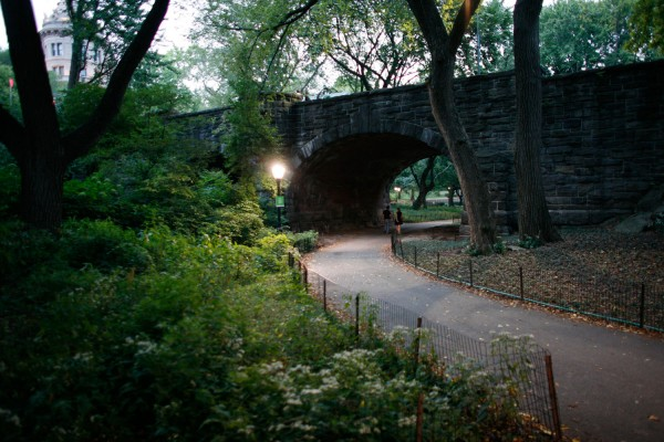 West 77th Street Stone Arch in Central Park